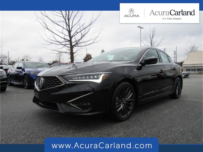 New 2019 Acura ILX with Premium and A-Spec Package Sedan Duluth GA