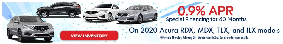 0.9% APR Special Financing for 60/Months