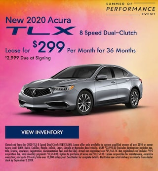 New 2020 Acura TLX - Aug '19