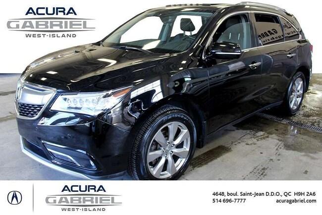 2016 Acura MDX SH-AWD ELITE CERTIFIÉS+CUIR+TOIT+DVD+NAVI+B SUV