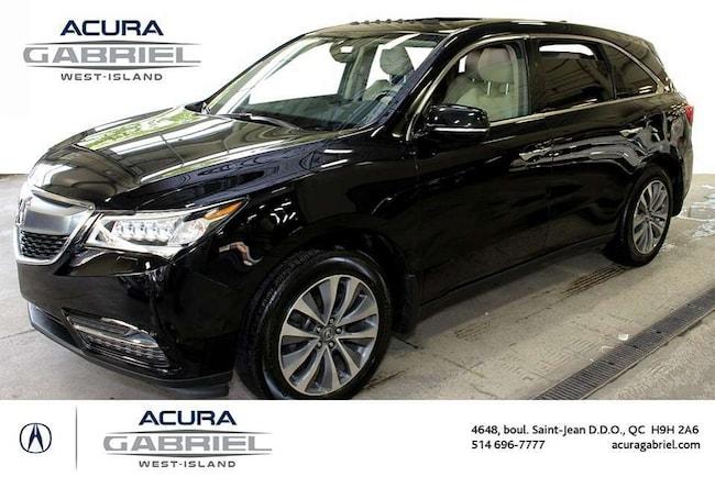 2016 Acura MDX SH-AWD NAVIGATION CERTIFIÉS+CUIR+TOIT+NAVI+ SUV