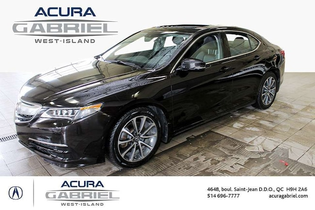 2015 Acura TLX SH-AWD Tech Pckg CUIR+TOIT+NAVI+BLUETOOTH+CAMERA+ Sedan