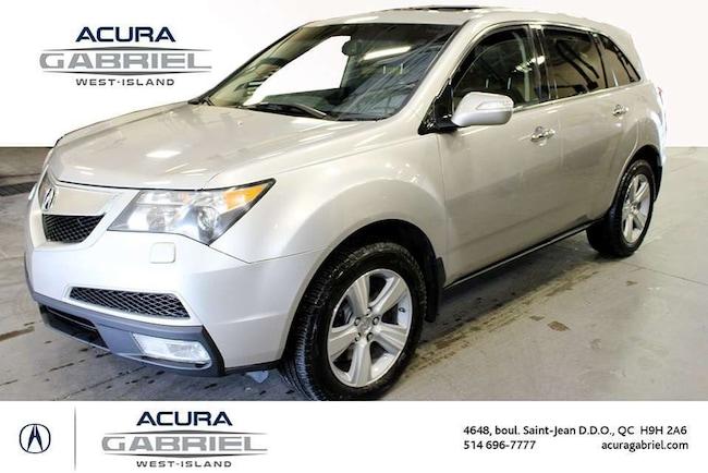 2010 Acura MDX SH-AWD  JAMAIS ACCIDENTÉ+CUIR+TOIT+BLUETOOT SUV