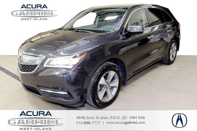 2016 Acura MDX SH-AWD $276.60 taxe incl / 2 semaines 72 mois**8 P SUV