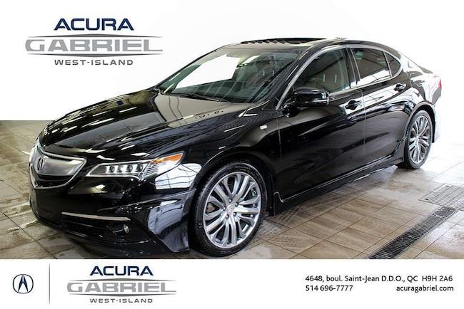 2016 Acura TLX SH-AWD A-SPEC  CERTIFIÉS+CUIR+TOIT+NAVI+BL Sedan