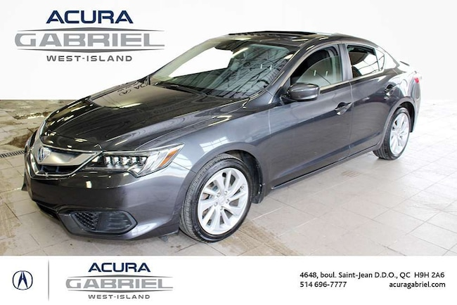 2016 Acura ILX Premium Package CUIR+TOIT+NAVI+BLUETOOTH+CAMERA+++ Sedan