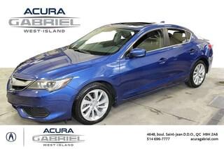 2016 Acura ILX PREMIUM  Package CERTIFIÉS+CUIR+TOIT+BLUETO Sedan