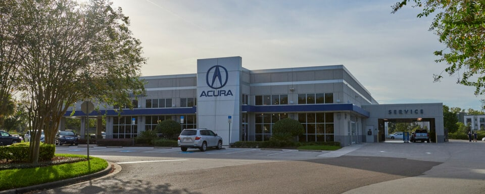 Vista exterior de AutoNation Acura North Orlando