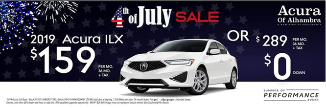 Acura Dealer Parts >> Sierra Acura Dealer In Alhambra Ca Specials On New Acuras