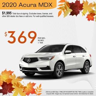 Acura MDX $369 Octoberfest