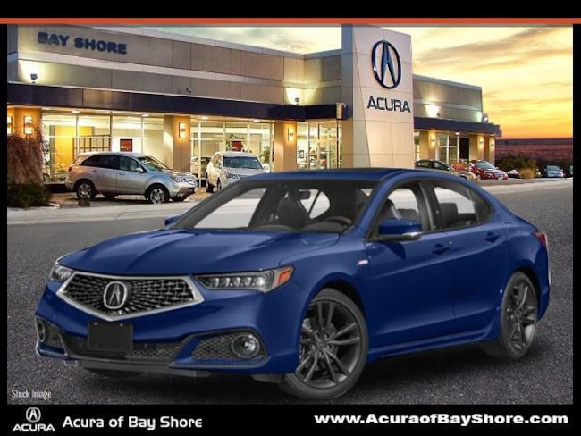 2020 Acura TLX with A-Spec Package and Red Interior Sedan