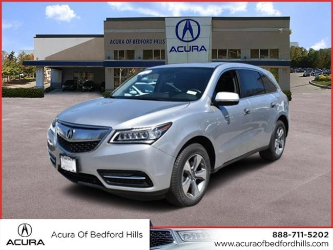Certified Pre-Owned 2015 Acura MDX SH-AWD SH-AWD  SUV in Bedford Hills, NY