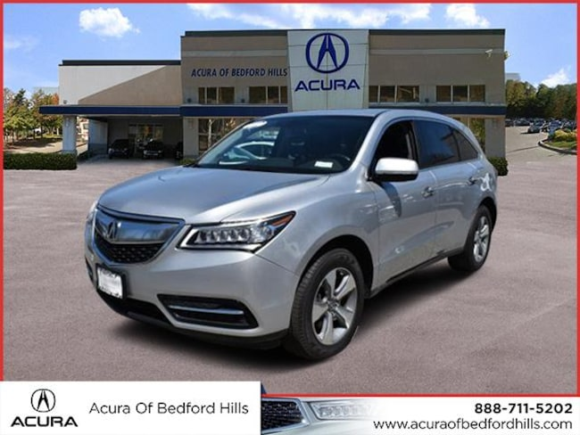 Certified Pre-Owned 2015 Acura MDX SH-AWD Sport Utility in Bedford Hills, NY