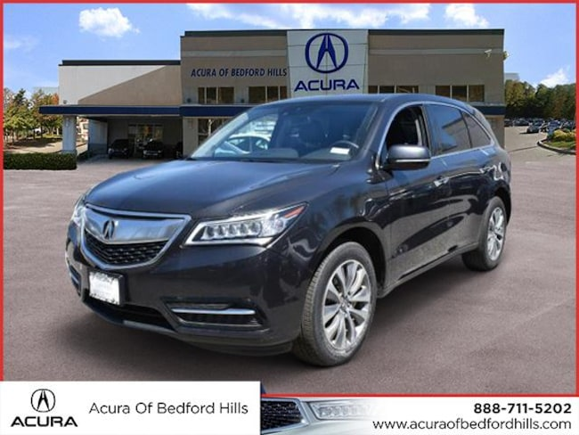 Pre-Owned 2015 Acura MDX Tech Pkg SH-AWD  SUV w/Technology Package in Bedford Hills, NY