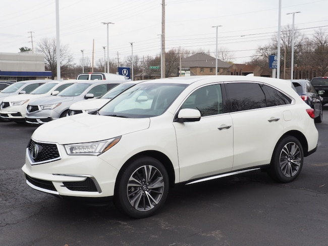 Acura Of Boardman >> New 2019 Acura Mdx For Sale At Acura Of Boardman Vin