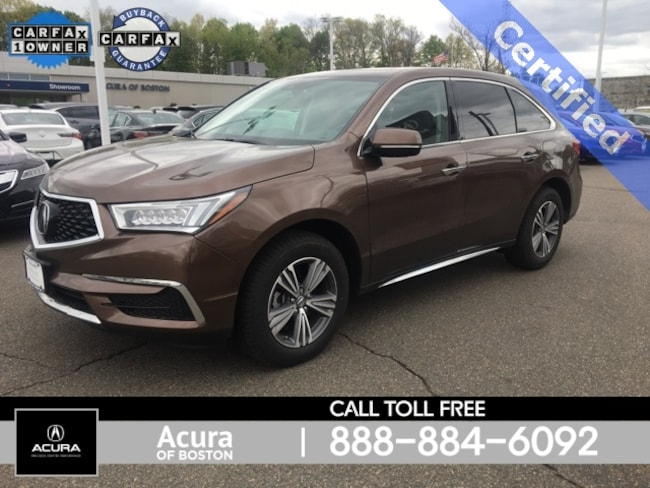 Used 2019 Acura MDX For Sale in Framingham,MA | Bernardi Toyota