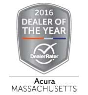 Acura of Boston - Acura Dealer of the Year Award - Massachusetts