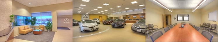 Areas available to you while waiting for your Acura of Honda to be serviced at Acura of Boston