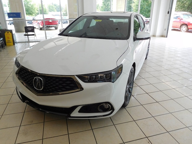 New 2019 Acura TLX 2.4 8-DCT P-AWS with A-SPEC RED Sedan in Columbus, GA