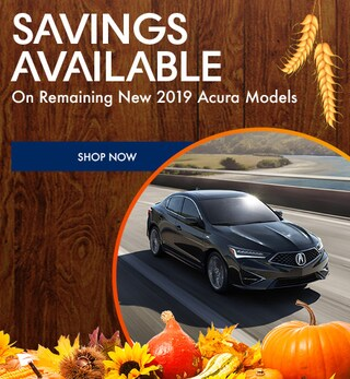 Savings Available on Remaining New 2019 Acura Models