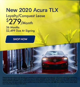 March - New 2020 Acura TLX