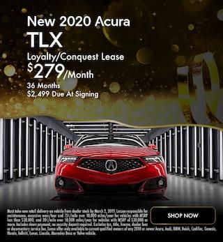 New 2020 Acura TLX - January Special