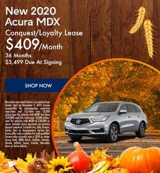 New 2020 Acura MDX - November Special