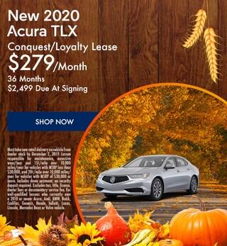 New 2020 Acura TLX - November Special