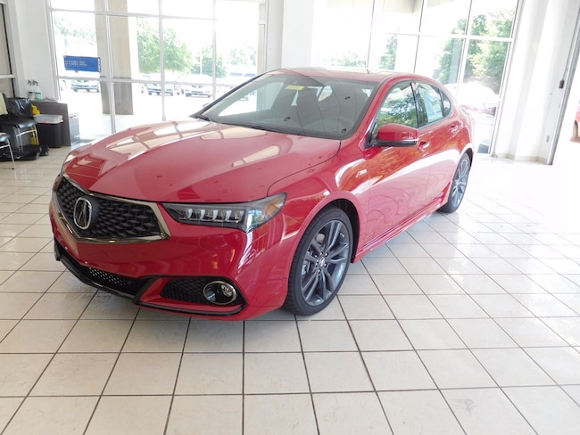 New 2019 Acura TLX 3.5 V-6 9-AT P-AWS with A-SPEC Sedan in Columbus, GA