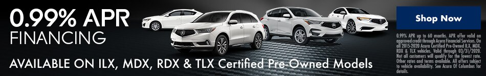 Certified Pre-Owned Finance Offer