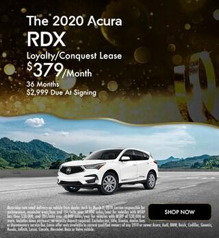 New 2020 Acura RDX - January Special