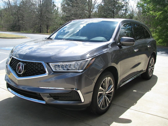 New 2019 Acura MDX with Technology and Entertainment Packages SUV in Columbus, GA