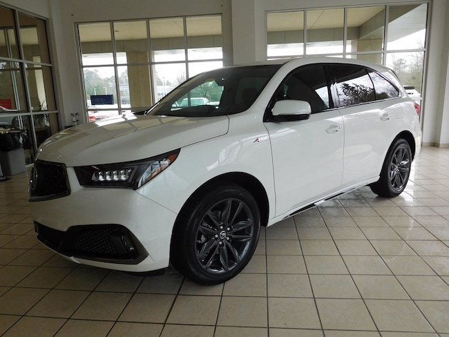 New 2019 Acura MDX SH-AWD with A-Spec Package SUV in Columbus, GA