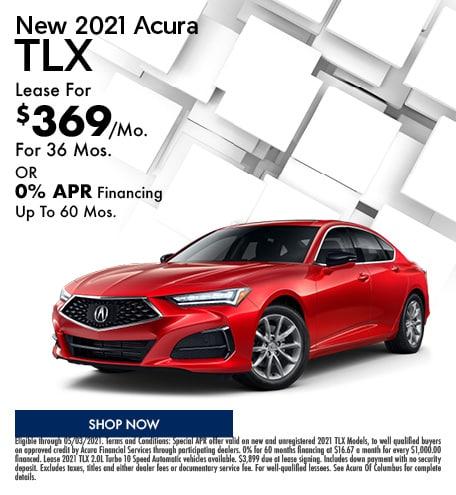 New 2021 Acura TLX   April