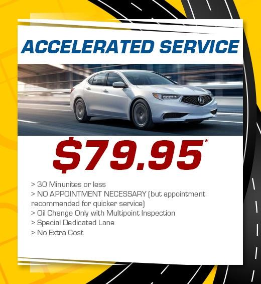 Acura Car Service Specials In Concord, CA