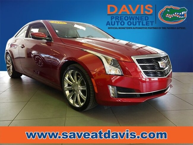 Used 2016 Cadillac ATS 3.6L Performance Coupe For Sale in Gainesville, FL