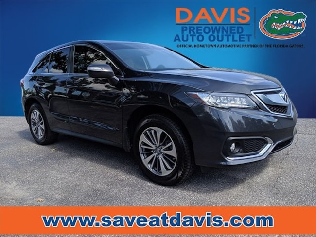 Certified 2016 Acura RDX Base w/Advance Package SUV For Sale in Gainesville, FL