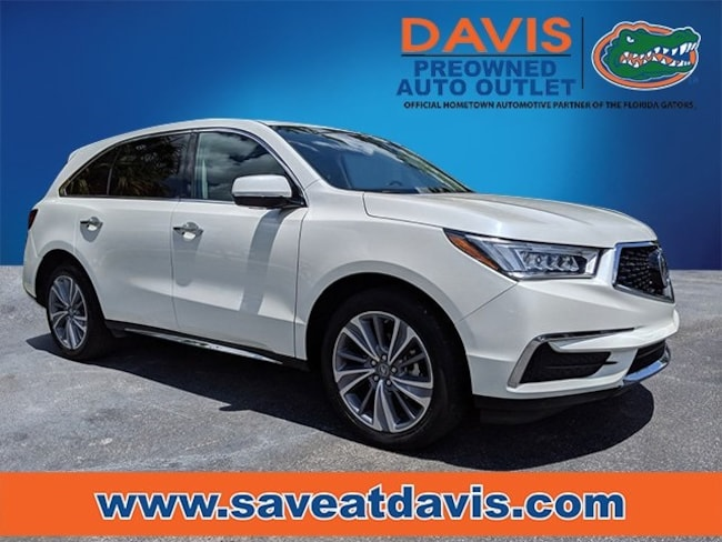 Certified 2017 Acura MDX 3.5L SH-AWD w/Technology Package SUV For Sale in Gainesville, FL