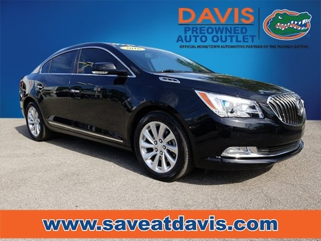 Used 2016 Buick Lacrosse Leather Group Sedan For Sale in Gainesville, FL