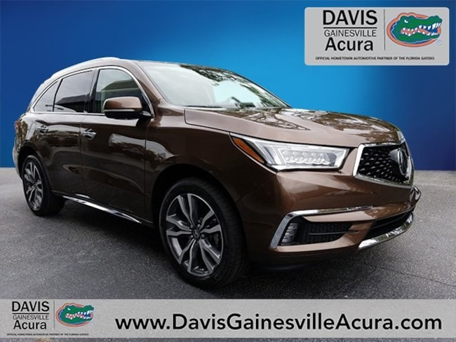 New 2019 Acura MDX with Advance Package SUV For Sale in Gainesville, FL