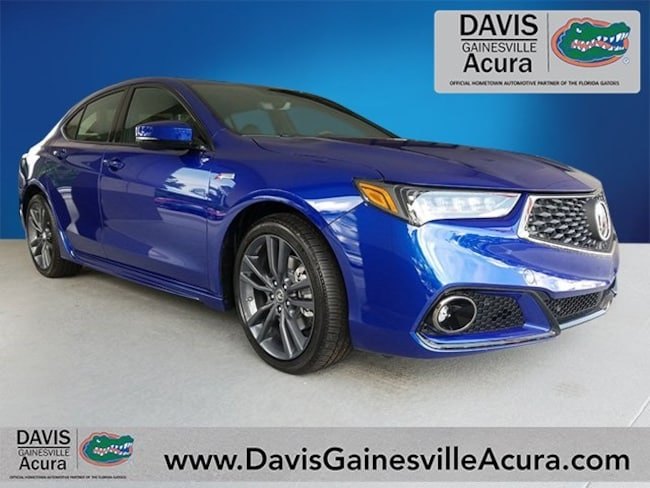 New 2019 Acura TLX 3.5 V-6 9-AT P-AWS with A-SPEC Sedan For Sale in Gainesville, FL