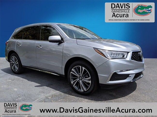 New 2019 Acura MDX with Technology Package SUV For Sale in Gainesville, FL