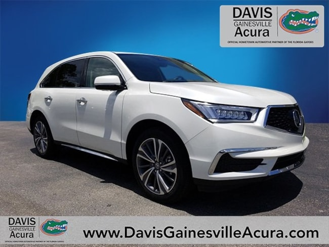 New 2018 Acura MDX SH-AWD with Technology Package SUV For Sale in Gainesville, FL