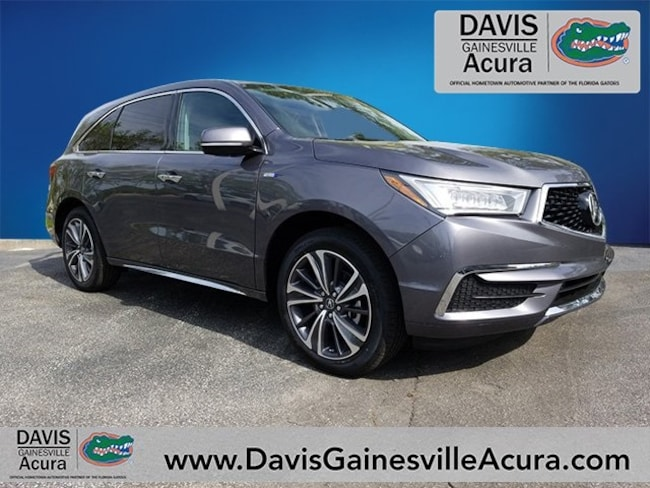 New 2019 Acura MDX Sport Hybrid SH-AWD with Technology Package SUV For Sale in Gainesville, FL
