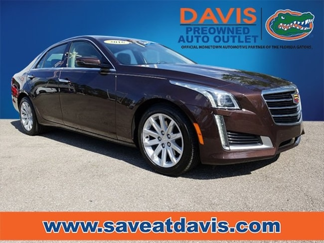 Used 2016 Cadillac CTS 2.0L Turbo Sedan For Sale in Gainesville, FL