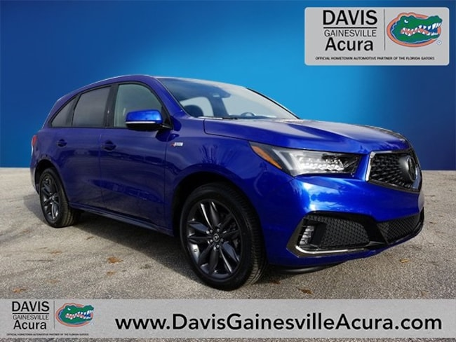 New 2019 Acura MDX SH-AWD with A-Spec Package SUV For Sale in Gainesville, FL