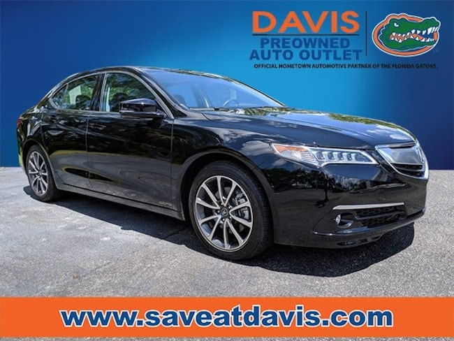 Used 2017 Acura TLX 3.5L V6 w/Advance Package Sedan For Sale in Gainesville, FL