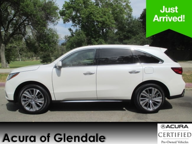 Certified Used 2018 Acura MDX Tech SUV in Glendale, CA