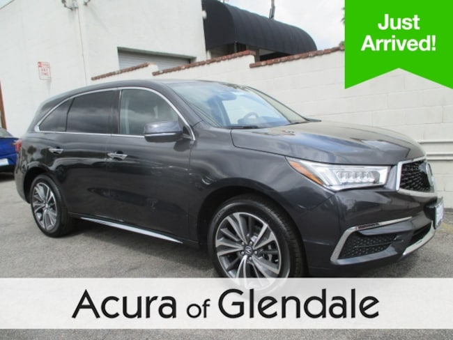 New 2019 Acura MDX with Technology Package SUV Glendale