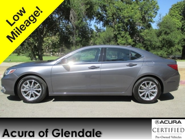 Certified Used Acura TLX CYL Tech For Sale In Glendale CA - Used acura tlx 2018